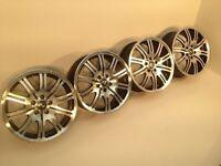 "BMW M TECH, M SPORT 19"" 5x120 8J ORIGINAL ALLOY WHEELS, not brabus, borbet, bbs, AEZ"