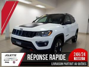 2017 Jeep All-New Compass Trailhawk temps froids et Ens. remorqu