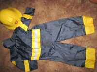 Fireman outfit age 5/6