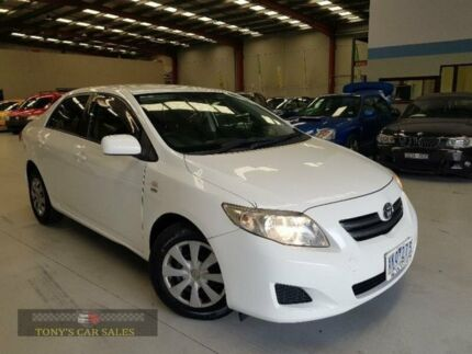 2009 Toyota Corolla ZRE152R Ascent White 4 Speed Automatic Sedan Laverton North Wyndham Area Preview