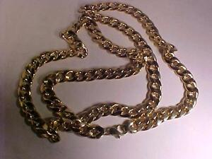 """10K CUBAN LINK ***113.06 GRAMS*** 40"""" LONG-1/2"""" WIDE-NEED SOME TIME? NOT A PROBLEM -LAYAWAY-TRADE IN -IT`s  A BEAUTY"""