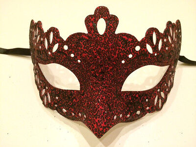 Leopard Venetian Masquerade Costume Ball Prom Dance Party Wedding Mask Male Girl (Leopard Masquerade Masks)