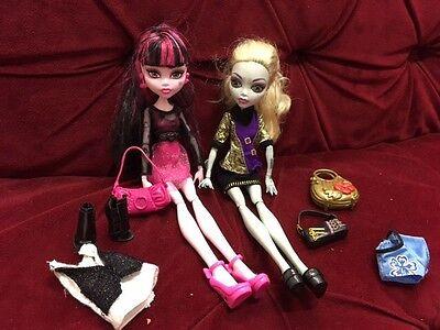 Monster High Puppen draculaura. Lagoona Blue Zubehör Klamotten Schuhe Nr.96 (Lagoona Blue Schuhe)
