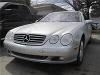 2002 Mercedes-Benz CL-Class Coupe • 122,000 KM •   LOADED  