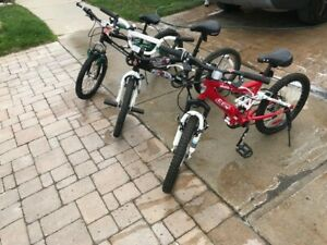 20 inch boys bicycles.  $50 per bike. Good condition