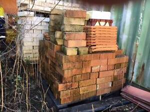 Pallets of bricks and Pavers as detailed Seven Hills Blacktown Area Preview