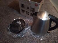 Silver Morphy Richards Kettle New Boxed