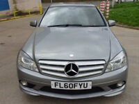 MERCEDES-BENZ C CLASS 2.1 C220 CDI BLUEEFFICIENCY SPORT 4d AUTO 170 BHP PART LEATHER TRIM