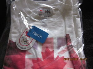 COLLECTIBLE 1 Womens & 1 mens Olympic t-shirts BRAND NEW London Ontario image 3