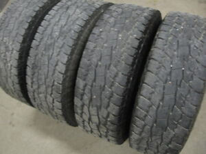 SET OF 4 TOYO OPEN COUNTRY HD TRUCK TIRES LT265/70R17 LOAD E