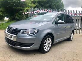 VOLKSWAGEN TOURAN 1.9 TDI Match (grey) 2010
