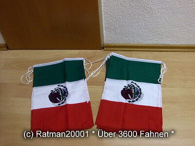 Fahnen Flagge Flaggenkette Mexico 6 Meter Lang