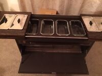 Heated Hostess Food Trolley - Ideal for Christmas Entertaining