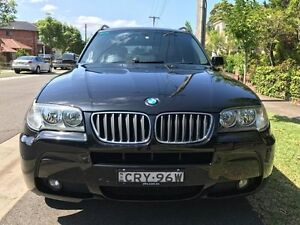 2007 BMW X3 E83 MY07 E83 si Wagon 5dr Steptronic 6sp 4WD 3.0i [MY07] Black 6 Speed undefined Croydon Burwood Area Preview
