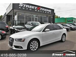 2013 Audi A4  SUNROOF, CLEAN CARPROOF, LEATHER, LUMBAR SUPPORT