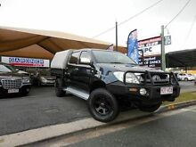 2009 Toyota Hilux GGN25R SR5 Black 5 Speed Manual Dual Cab Southport Gold Coast City Preview