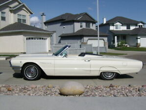 Convertable Thunderbird 64 low milage California owned