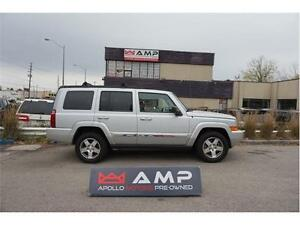 2010 Jeep Commander Sport NAVI Multi-roof Leather 3.7L 4X4