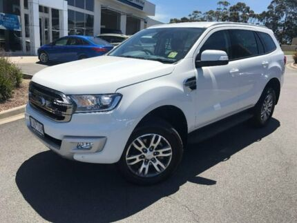 2017 Ford Everest UA MY17 Trend (rwd) White 6 Speed Sports Automatic Wagon Traralgon Latrobe Valley Preview