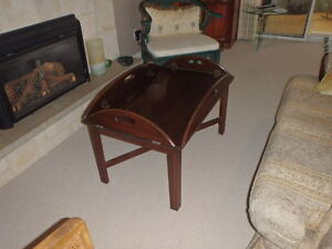 Vintage Ethan Allen Butler's Tray Coffee Table...simply gorgeous