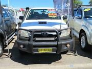 2007 Toyota Hilux KUN26R MY07 SR White 5 Speed Manual Cab Chassis Minchinbury Blacktown Area Preview