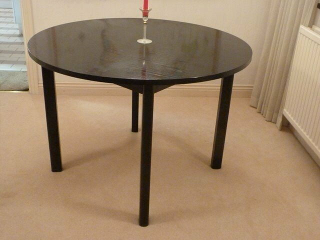 """Two dining tables, 42"""""""