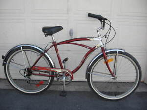 Stylish, Classic 6 Speed Bicycle