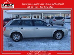 2004 Audi A4 3.0L AWD REDUCED TO $3900!