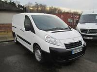 Peugeot Expert 1200 1.6 Hdi 90PS L2 H1 Van DIESEL MANUAL WHITE (2014)