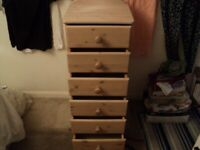 a pretty chest of drawers on feet