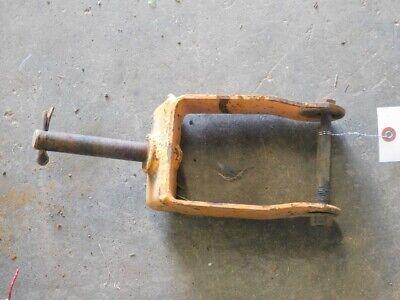 Woods Belly Mower Gauge Wheel Bracket Tag 197