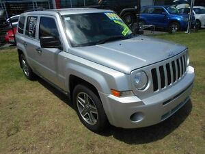 2009 Jeep Patriot MK MY2007 Limited Silver 5 Speed Manual Wagon Kippa-ring Redcliffe Area Preview