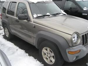 2003 Jeep Liberty Sport REALLY NICE AS-IS DEAL CLEAN 4X4