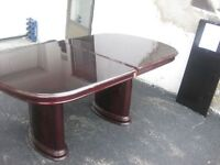 Redwood Dining Room Table   --Cameo Furniture