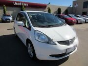 2009 Honda Jazz GE GLi White 5 Speed Automatic Hatchback Hoppers Crossing Wyndham Area Preview