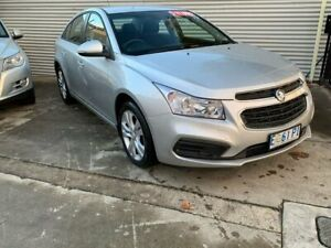 2015 Holden Cruze JH Series II MY15 Equipe Silver 6 Speed Sports Automatic Sedan North Hobart Hobart City Preview