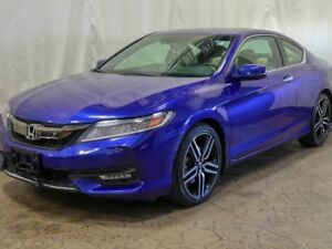 2017 Honda Accord Coupe V6 Touring Automatic w/ Navigation, Sunr