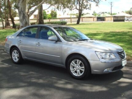 2008 Hyundai Sonata NF MY09 SLX Silver 4 Speed Sports Automatic Sedan Broadview Port Adelaide Area Preview