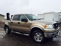 2006 FORD F150 SUPER CREW CAB XLT 4X4 CERTIFIED