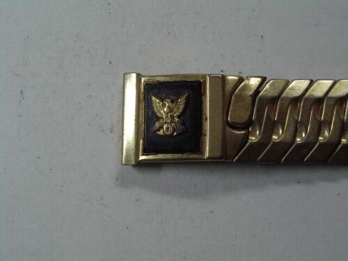 NOS Vintage Fraternal Order of Eagles GF Wristwatch Band   B-70