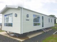 choice of pre loved and new static caravansfor sale Northeast coast no site fees until 2019