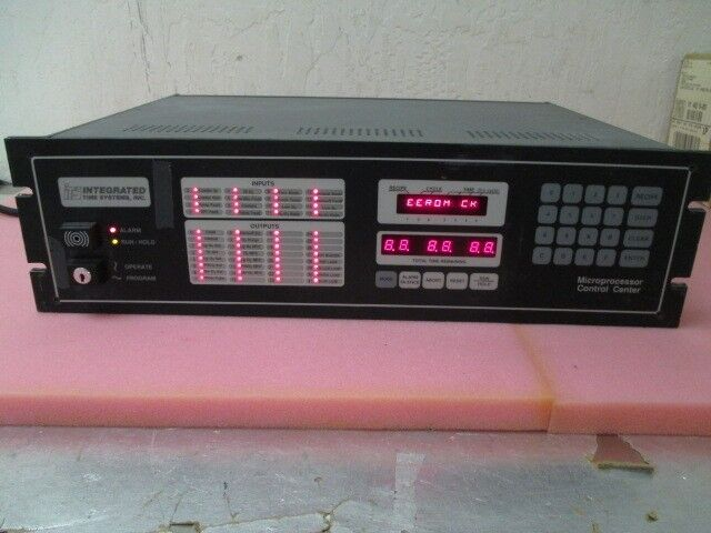 Intergrated Time Systems Its  800-0416 Microprocessor Control Center, Controller