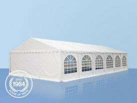 SALE Luxury Grand 08x12m Heavy Duty Marquee PVC & Steel With GroundBar