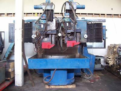 48 Campbell No. As4860-16d Swing 60 1983dual Spindle Vertical Grinder