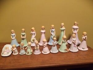 Growing up birthday porcelain dolls