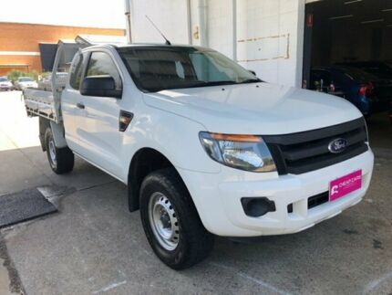 2013 Ford Ranger White Cab Chassis Hermit Park Townsville City Preview