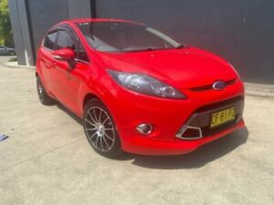 2011 Ford Fiesta WS Zetec Hatchback 5dr Auto 4sp, 1.4i Red Automatic Hatchback Villawood Bankstown Area Preview