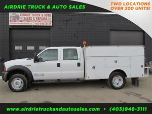 2007 Ford Super Duty F-550 DRW 4x4 SERVICE BODY