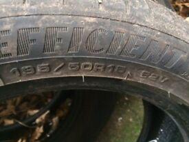 4 part worn tyres 195/50/15
