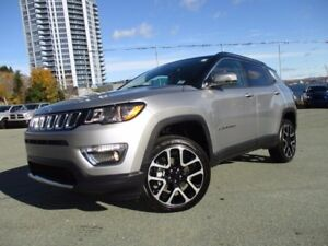 2017 Jeep COMPASS LIMITED (REDUCED TO $32977!! 4X4, LEATHER, NAV